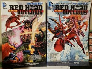 Red Hood And The Outlaws Volume 4 & 5.  The New 52 DC Comics BATMAN used