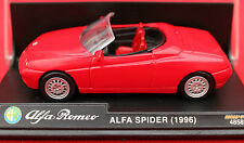 IMMACULATE NEW RAY 48589 1/43 ALFA ROMEO SPIDER  IN DISPLAY CASE! SUPERB!
