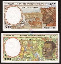 Central African States 2000 P-404Lg Unc Gabon 1000 Francs