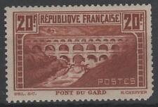 "FRANCE STAMP TIMBRE N° 262 "" PONT DU GARD 20F CHAUDRON "" NEUF xx A VOIR  K861"