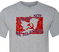 The Patriot Party -I Will Not Be Silenced - Fast Shipping - Printed by Vet in KC