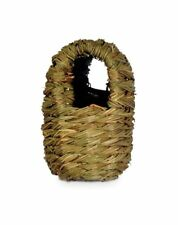 Prevue Pet Products Parakeet Twig Hut Made With All Natural, Dried Grasses