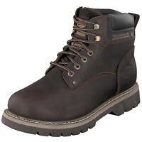 Dockers by Gerli 23DA104 Herren Combat Desert Boots Stiefel Warmfutter Cafe