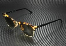 RAY BAN RB3016 1160 Clubmaster Spotted Brown Havana Brown 51mm Unisex Sunglasses