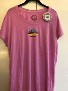 Life Is Good Ladies XL T-shirt, Brand New With Tags