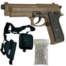 pistolet a billes airsoftTaurus PT92 Replicas 210117 Cybergun - Metal TAN