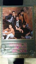 Vintage New Kids On the Block Nos lrg poster.