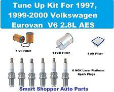 Tune Up Kit for Volkswagen Eurovan AES Laser Platinum Spark Plugs, Oil AirFilter