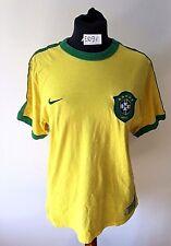 MAGLIA CALCIO BRAZIL FOOTBALL SHIRT SOCCER NIKE BRASILE TRIKOT CAMISA JERSEY
