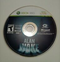 Alan Wake (Microsoft Xbox 360 Game) Disk Only Microsoft Game Studios Rated T