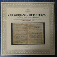 Gregorianischer Choral Montserrat Gregori Estrada ARCHIV 2533158 LP146