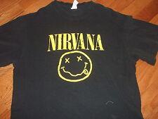 Nirvana vintage Smiley Face shirt Adult Medium Kurt Cobain