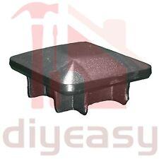 16 x Plastic End Cap Square 65x65 mm Fence Post Tube Pyramid