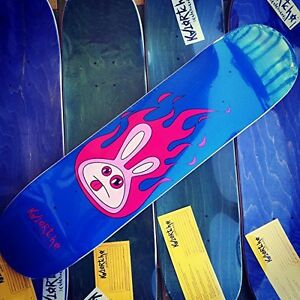 Tavola Skateboard Professionale Acero Katortcho con Griptape Jessup