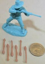 Toy Soldiers of San Diego TSSD Plains Indian Weapons Arrows 6 Piece Set Tan