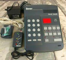 Quorum Panic Dialer Phone PD-100 Emergency Dialer Remote Button Voice Alarm