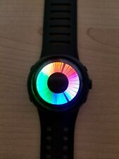 TOKYO FLASH STYLE MULTI COLOR LED WATCH, COOL UNIQUE FUTURISTIC SPACE AGE BINARY