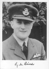STTF42 WW2 WWII BoB RAF Battle of Britain pilot BAIRD hand signed photo