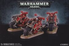Chaos Space Marine Bikers Games Workshop Warhammer 40.000 40k GW Bikes