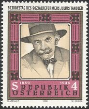 Austria 1986 Julius Tandler/Bienestar Social reformador/personas/1 V (n44353)