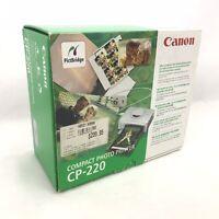 Canon CP-220 Digital Photo Thermal Printer Print Post Cards