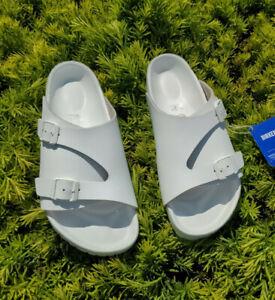Birkenstock Zurich Monterey Exquisite Leather Sandals Womens 7-7.5 EU 38 White
