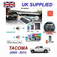 For Toyota Tacoma iPhone 5 6 7 8 SE 10 mp3 Aux Audio CD Changer Digital Module 6