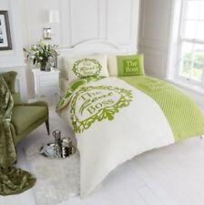 Linge de lit et ensembles vert à motif Fantaisie en polyester