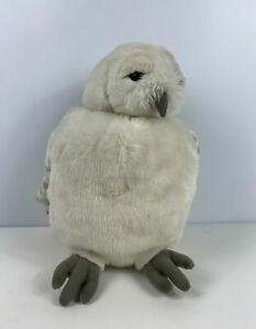 """WARNER BROS HARRY POTTER HEDWIG OWL HAND PUPPET MOVEABLE HEAD 12"""" PLUSH TOY"""