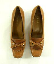 Ipanema Captain Womens Brown Brouge Pumps Heels Shoes Size 8 M