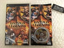 UNTOLD LEGENDS La Fratellanza della Spada PSP Playstation PAL ITA