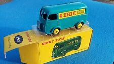 "Dinky Toys 25BV (3) - Peugeot D3a "" Cibié"" bleu 1:50, Atlas"