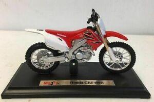 Maisto Honda CR 450 1:18 Model Motocross Dirt Bike Toy
