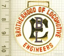 Sturdy key chain with a gold-plated & enamel BLE (Brotherhood Engineers) shield