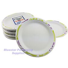 100 x 24cm Super Strong High Quality Chinet Disposable Party Plates (10 x 10)