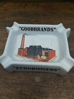 Rare Vintage Ashtray 1920s GOODBRANDS FUEL ECONOMISTS