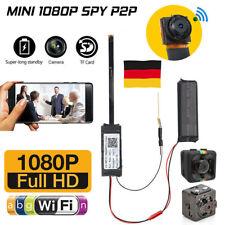 DE 1080P Mini HD WIFI Kamera versteckt Überwachungskamera Spion Spycam Video