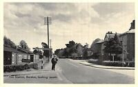 POSTCARD  HAMPSHIRE   BORDON   Fire  Station  Looking  South