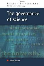 GOVERNANCE OF SCIENCE (Issues in Society)-ExLibrary