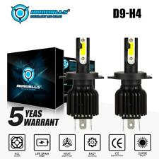 LED H4 Headlight Globe Kit 9003 180W 21600LM Hi Lo Beam Conversion Bulb White