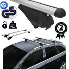 Baca barras cruzadas bloqueo de aluminio encaja VOLKSWAGEN VW TOUAREG II 7P 2014 en