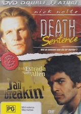 DEATH SENTENCE & JAIL BREAKIN' - Nick Nolte - Erik Estrada - DOUBLE FEATURE  DVD