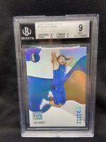 2018-19 Panini Status #172 Luka Doncic Dallas Mavericks RC Rookie BGS 9 R60