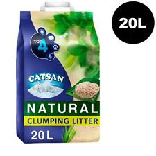 20L Catsan Natural Biodegradable Clumping Cat Litter 20 Litres Kitten Litter