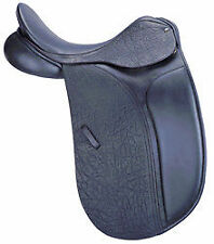 "County Saddlery Connection Black 17.5"" Equestrian Saddle"