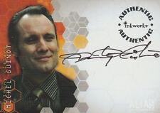 Inkworks Alias Season 4 Anthony Cistaro as Michel Guinot Autograph A38