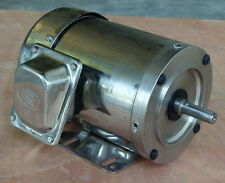 Surplus Sale! Gator Stainless Steel Washdown AC Motor 1.5HP 1800RPM 56C TEFC