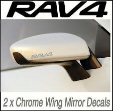 Toyota Rav4 Chrome Wing Mirror Decals Stickers Vinyl