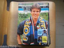 INTER FOOTBALL CLUB=N°5 1988=MATTHAUS=POSTER ZENGA=FANNA=LIVERPOOL=ENRICO RUGGER
