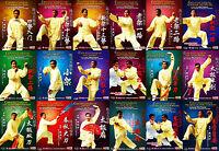DVD Chen Style Tai Chi Taiji Chen Style Taijiquan by Zhu Tiancai Series 38DVDs